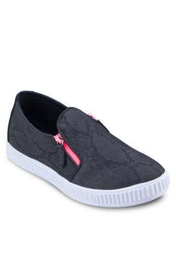 Textured Slip On Skate Shoes
