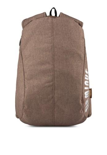 簡約帆布筆電後背包