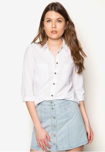 雙口袋青年襯衫 - 253026