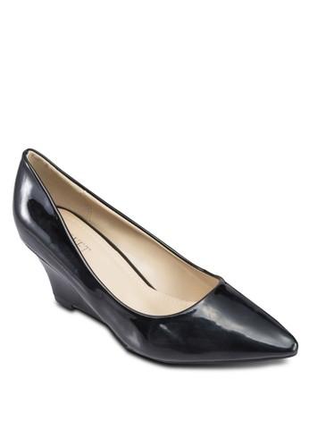 簡約尖頭楔形鞋