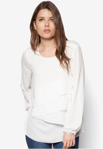 層疊長袖上衣 - 250868