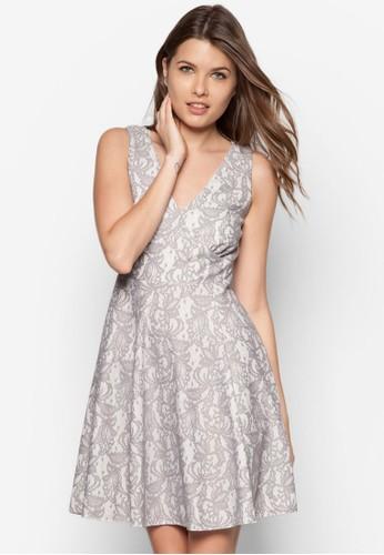Petite 蕾絲無袖洋裝 - 250852