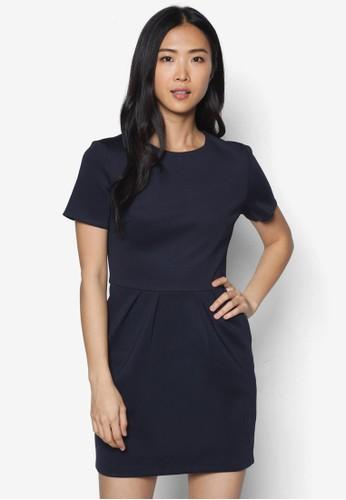 基本款短袖連身裙 - 225777
