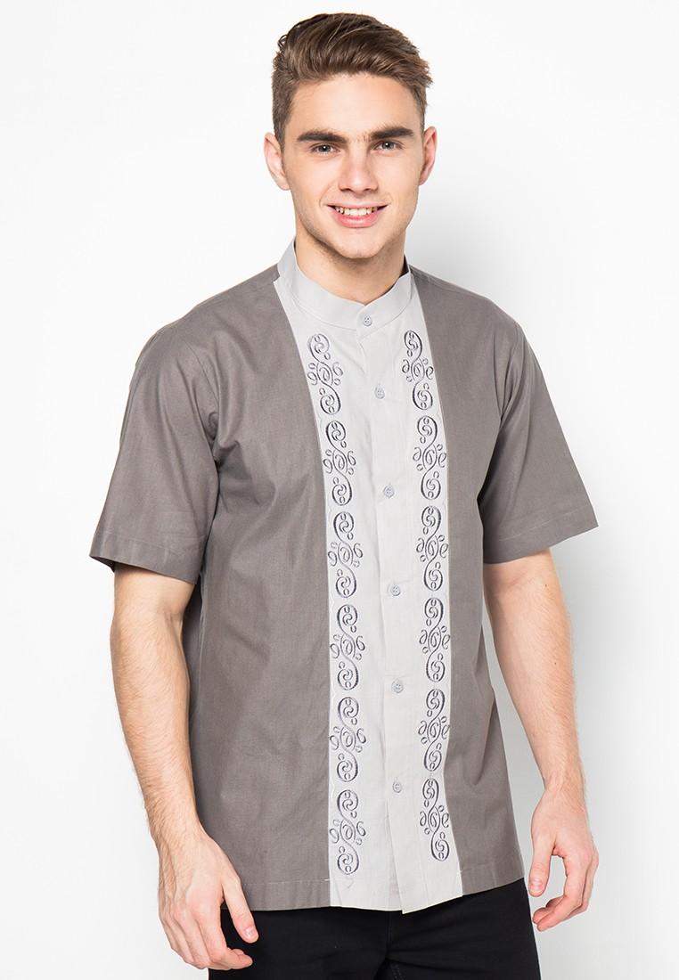 Baju Koko Bordir Lengan Pendek Dari Atypical Jn2141