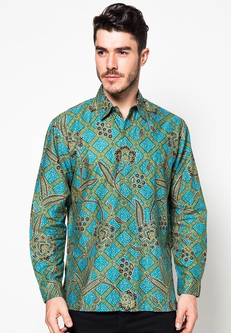 Kemeja Batik Lengan Panjang Lung Mukti by Danar Hadi JN2841 ...