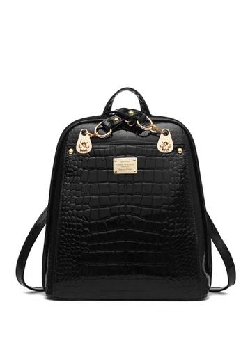TCWK black Ladies Backpack TC258AC48BOPMY_1