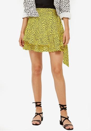 Shop TOPSHOP Animal Magic Ruffle Mini Skirt Online on ZALORA Philippines 41f62d278