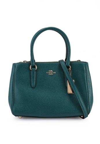 Coach green Mini Surrey Carryall Bag (cv) BC03EACB9841A1GS_1