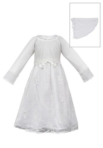 ESTRELLA white Muslim Dress Anak ESM 213 6/12 2259BKAB024118GS_1