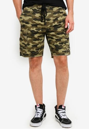 Cotton On 褐色 Cargo Shorts 4212DAA9750A9AGS_1