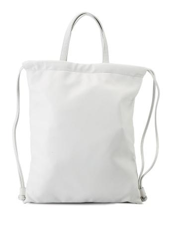 Keddo white Saarah Backpack 840D2AC4A191E3GS_1