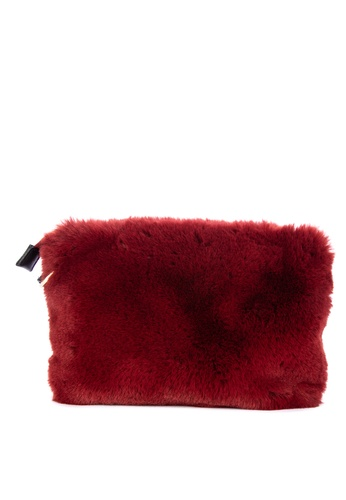 2460c23ad339 Shop TOPSHOP Rupert Faux Fur Cross Body Bag Online on ZALORA Philippines