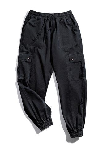 Twenty Eight Shoes 黑色 VANSA 復古多口袋休閒褲 VCM-P2001180 AB2B3AAAFC3A37GS_1