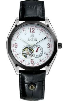 Master Bonham Leather Watch