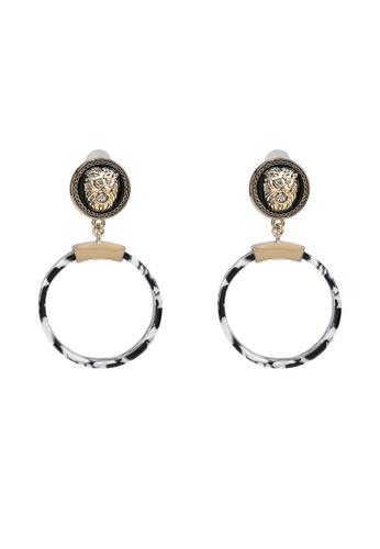 ALDO white Luya Pierced Earrings 272F3AC17750B6GS_1