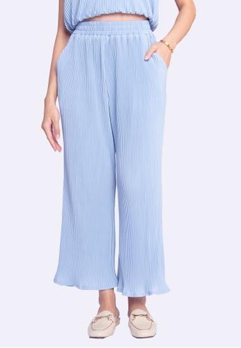 L'zzie blue LZZIE MICAELA PANTS - BLUE C623FAAA62C933GS_1
