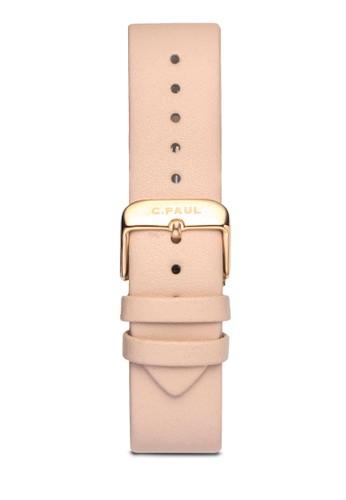 35mm 皮革zalora 鞋評價錶帶, 錶類, 皮革錶帶