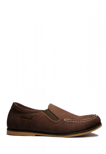 D-Island brown D-Island Shoes Casual Slip On Suede Leather Brown 99AA2SH89F0BEFGS_1