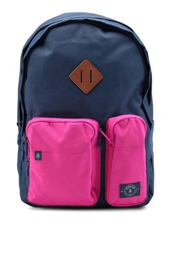 Parkland blue Academy Backpack B6F8DACB649BD6GS_1