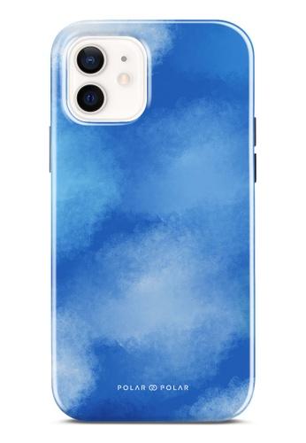 Polar Polar 藍色 夏之彩雲雙層光面手機殼 iPhone 12 Pro / iPhone 12 BD07AACC820492GS_1