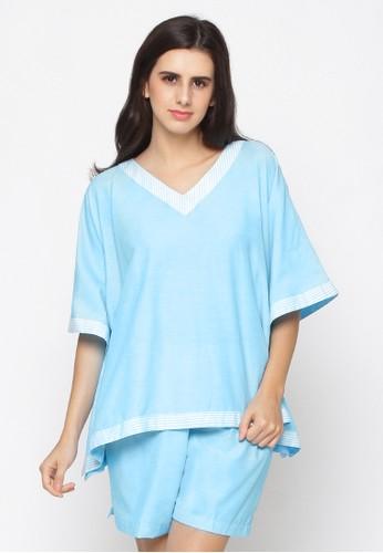 Impression blue Pajamas Sherrie Set 9114 0F7E4AA4766DEEGS_1