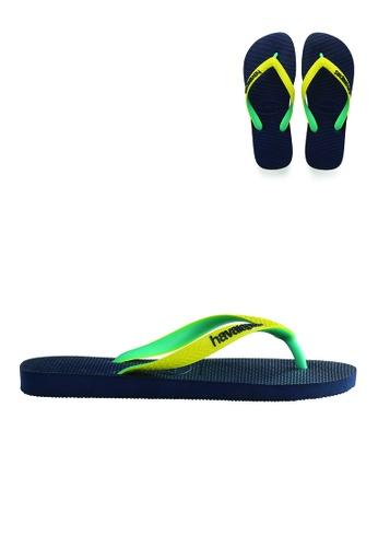 Havaianas Havaianas Unisex Top Sandals Mix (Navy/ Yellow) 19E35SHD5669E0GS_1