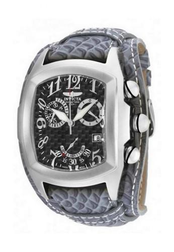 INVICTA silver Invicta Lupah Men Swiss Quartz Chronograph 47mm Watch 90263 37773AC9BD5C00GS_1
