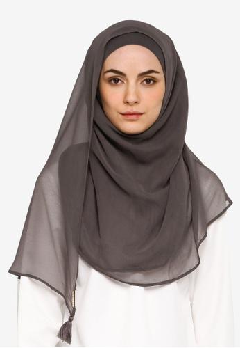 Bokitta grey Eiffel Tower Instant Hijab 63C88AABCC94C3GS_1