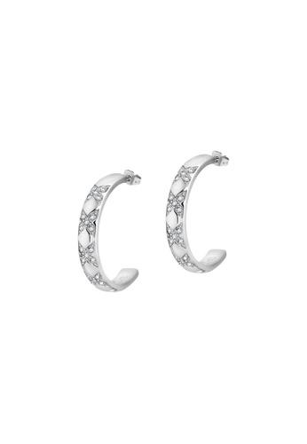 Morellato silver Morellato Cerchi Crystals Earrings SAKM69 61AE8ACD8926CAGS_1