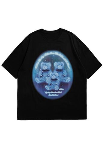 Twenty Eight Shoes Trend Printed Short T-shirt 5347S21 C8A8BAA5F2B3F6GS_1