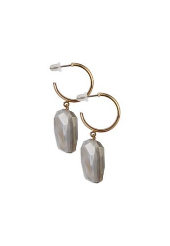niko and ... grey Resin Earrings 357A0ACC91F27EGS_1