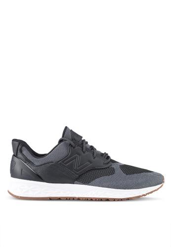 New Balance black 100 Lifestyle Sneakers NE323SH0SW9DMY_1