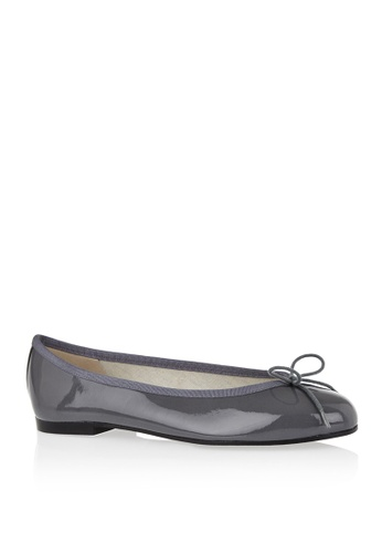 Covet grey French Sole Henrietta Ballet Flats CO331SH10EANPH_1