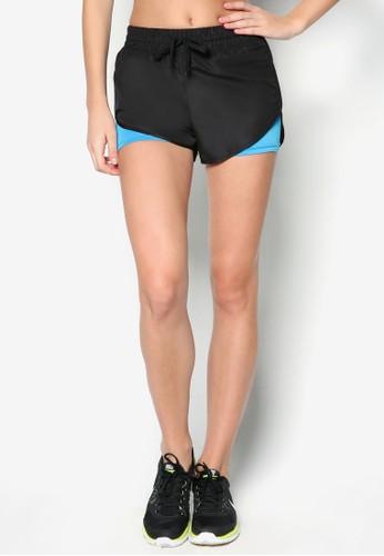 色塊運動短褲, 服飾,esprit outlet 香港 服飾