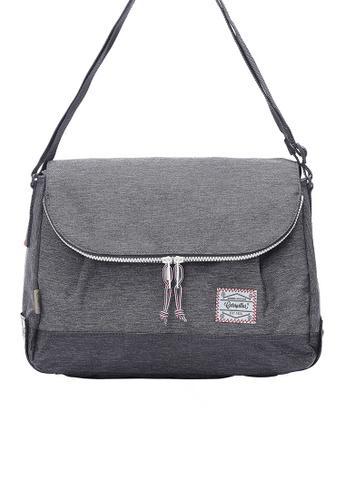 Caterpillar Bags & Travel Gear grey Essential Original Round Shape Shoulder Bag CA540AC87ISQHK_1