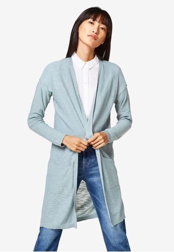 ESPRIT green Long Sleeve Sweater Cardigan 1E023AA5482FEAGS_1
