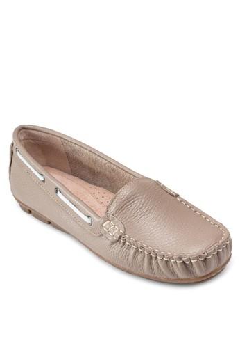 Gilda 穿孔繫帶樂福鞋, 女鞋esprit 價位, 鞋