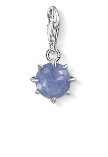 THOMAS SABO blue Charm Pendant Birth Stone December BBB22AC767A874GS_1
