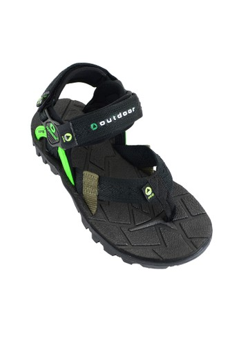 OUTDOOR FOOTWEAR green Outdoor Polar Black Sandal Gunung OU533SH38VNPID_1