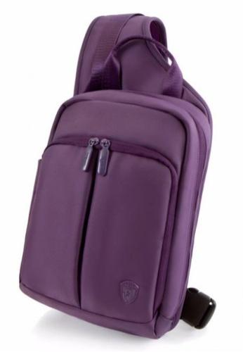 Heys Philippines purple RFID Tablet Sling Backpack HE581AC87DRKPH_1