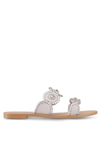 ZALORA grey Bohemian-Look Sandals 25134SH108EC76GS_1