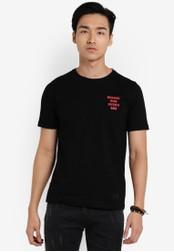 Flesh IMP black Medieval Design T-shirt FL064AA18VVTMY_1