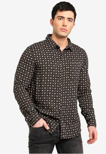 Cotton On 多色 印花襯衫 382B6AAE052BDFGS_1