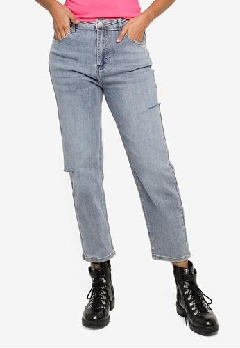 URBAN REVIVO blue Casual Jeans CDAA4AAFA76189GS_1
