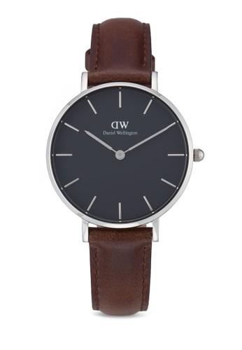 Daniel Wellington brown Classic Petite Bristol Watch DA965AC0UKSRID_1