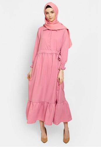 Jual Kayser Gamis Nihala Dusty Pink Original Zalora Indonesia