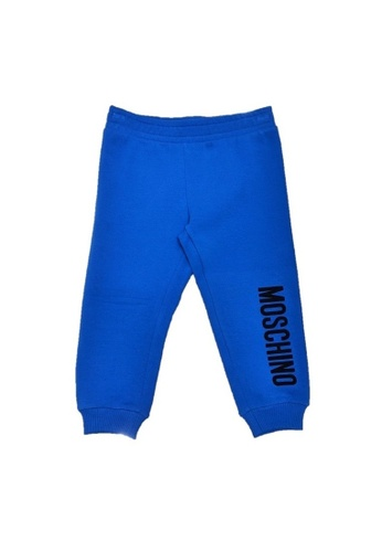 MOSCHINO BABY KID TEEN blue MOSCHINO BABY LONG PANTS CB6DDKAC8148F7GS_1