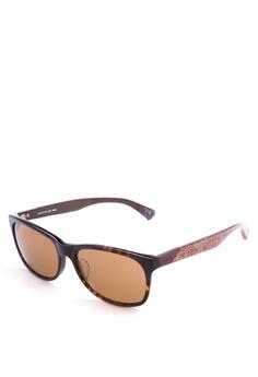 31cc8bb1cac9 Levi's brown Demi Full Rim Plastic Frame Wayfarer Sunglasses [ LV2045256 ]  LE892GL86JGZPH_1