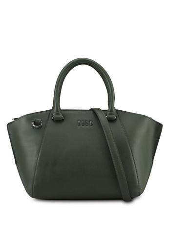 ELLE green Caressa Top Handle Bag 96970AC9D9F645GS_1