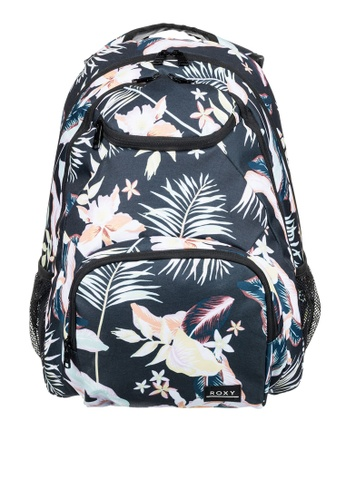 Roxy grey Shadow Swell 24L Medium Backpack AE0EAAC9AEB76AGS_1